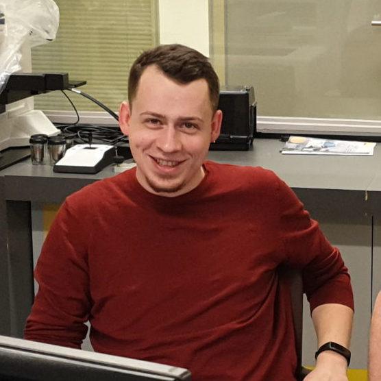 Paweł Antoniak - Inżynier serwisu